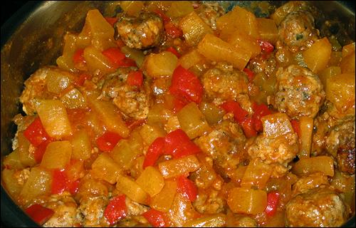 zucchinipfannemithackfleisch1